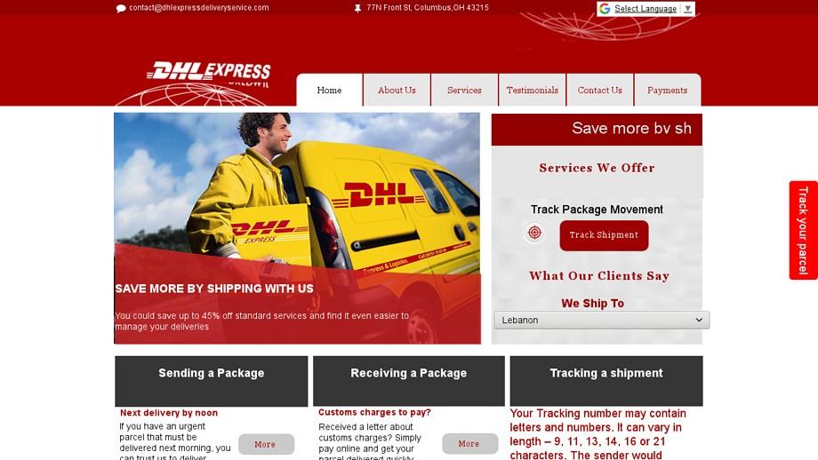 Thiết kế website giao hàng chuyên nghiệp