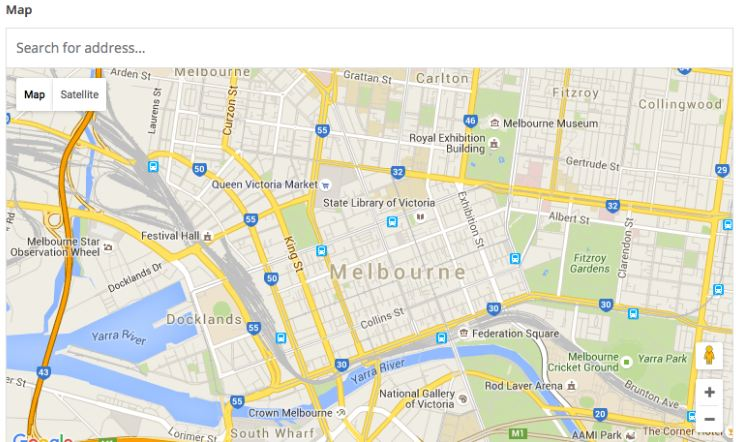 Tích hợp chức năng Google Map