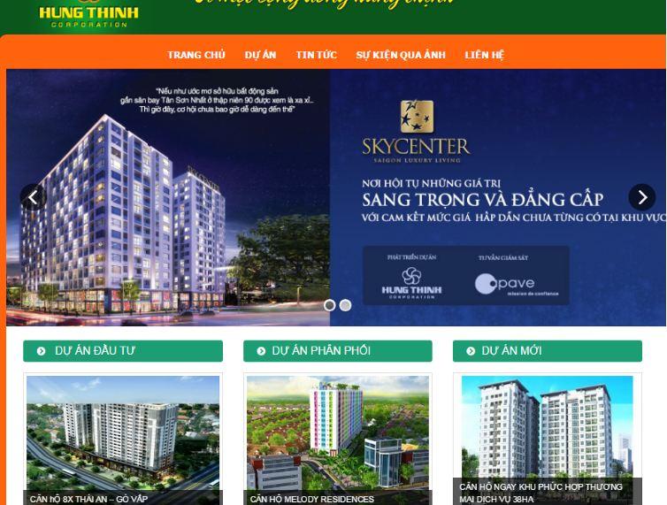 Website bds Hưng Thịnh