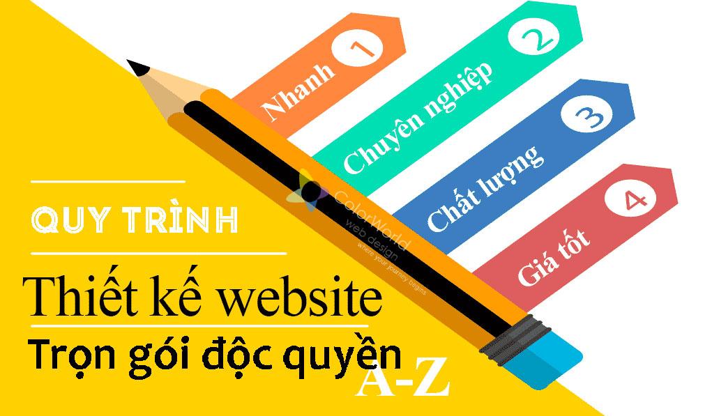 quy trình thiết kế web trọn gói
