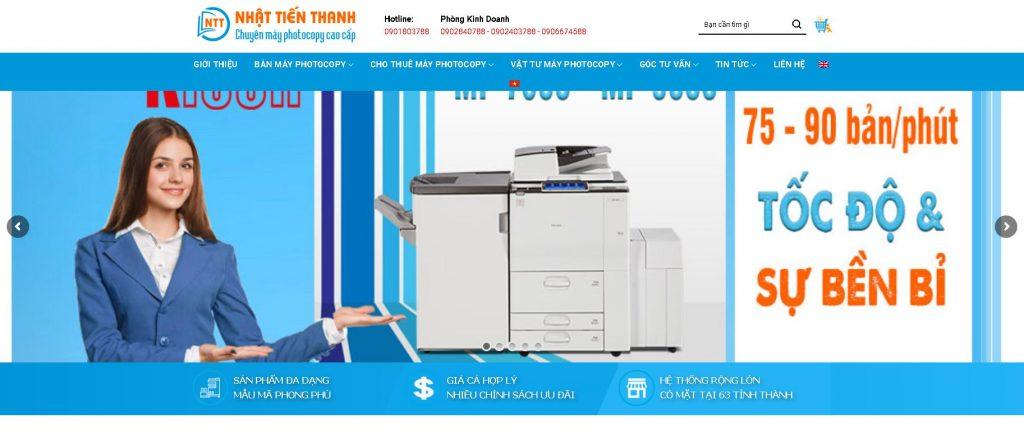 Công ty Nhật Tiến Thanh bán máy photocopy Toshiba