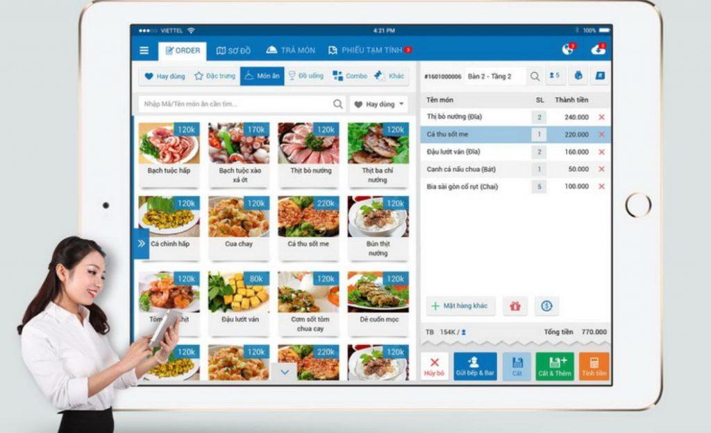 Lợi ích của phần mềm quản lý nhà hàng ăn uống