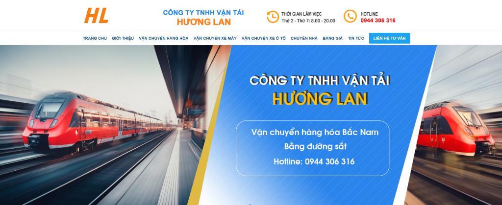 Công ty vận tải hàng hóa Hương Lan