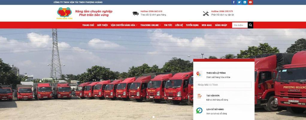 Công ty vận chuyển hàng hóa Bắc Nam Phượng Hoàng