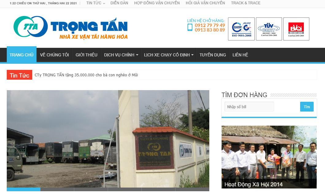 Công ty TNHH Dịch vụ Vận tải Trọng Tấn